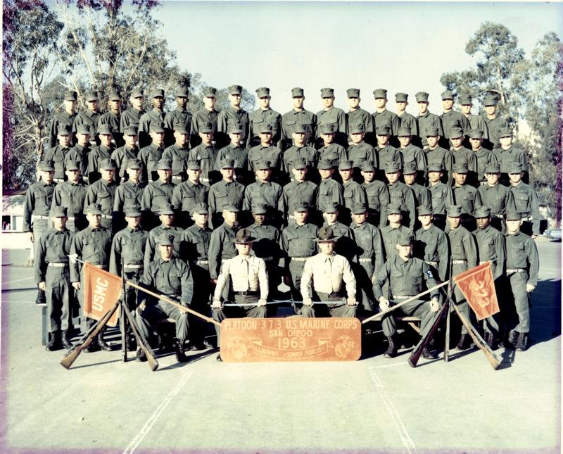 Marine Corps Recruit Depot San Diego, 1963